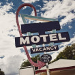 Old motel sign — Stock Photo #26921171
