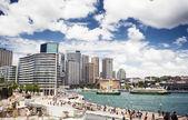 Sydneys hamn — Stockfoto