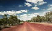 Northern Territory road — Stock Photo