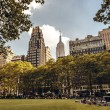 Brynat park in New York — Stock Photo