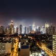 Night view of Midtown Manhattan — Stock Photo