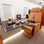 Private plane interior — Stock Photo #36221175