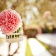 Wedding floral decoration on the tree — Stock Photo #36221345