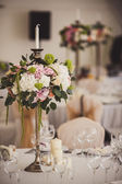 Decoration of wedding flowers — Stockfoto
