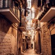 Streets of Bari town in Italy — Stock Photo #36299317