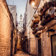 Streets of Bari town in Italy — Stock Photo #36299365