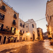 Streets of Bari town in Italy — Stock Photo