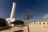 Lighthouse of Santa Maria di Leuca in Italy. — Stock Photo