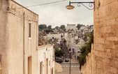 Trulli houses of Alberobello, Italy — Stock Photo