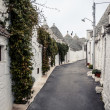 Trulli houses of Alberobello, Italy — Stock Photo