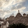 Stock Photo: Trulli houses of Alberobello, Italy