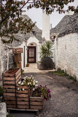 Trulli house in Alberobello, Italy — Stock Photo