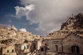 Ancient city Matera in Italy — Stock Photo