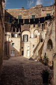 Ancient city Matera in Italy — Stock Photo