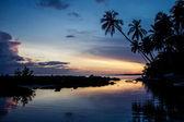Günbatımı Dominik Cumhuriyeti — Stok fotoğraf