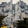 View of San Francisco, USA — Stock Photo