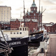 Port in Helsinki — Stock Photo