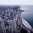 Aerial view of Chicago downtown — Stock Photo #39667977
