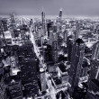 Aerial view of Chicago downtown — Stock Photo #39667983