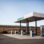 USA gas station — Stock Photo #39668137