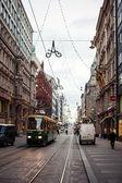 Public transport in Helsinki — Stock Photo