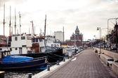 Port in Helsinki — Stock Photo
