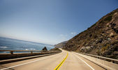 Route 1, also known as the Pacific Coast Highway — Stock Photo