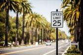 Speed Limit 25 sign — Stock Photo