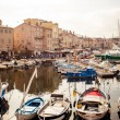 Saint Tropez port — Stock Photo