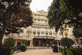 Hermitage Hotel in Monte Carlo — Stock Photo