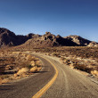 Stock Photo: Mojave Desert Highway