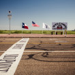 Midway point along Route 66 — Foto Stock