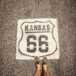 Kansas Route 66 — Stock Photo #39966077
