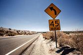 Speed limit sign in Arizona — Stock Photo