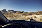 Mojave Desert Highway — Stock Photo