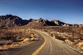 Route du désert de Mojave — Photo
