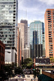 Chicago street view — Stock Photo