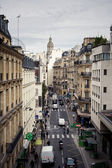 Rua lateral em paris — Fotografia Stock