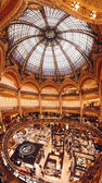 Galeries Lafayette, Paris — Stock Photo