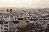 Paris from Montmartre — Stock Photo