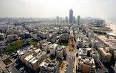 Aerial view of Tel Aviv — Stock Photo