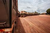 Road Trains of  Australia — Stock Photo