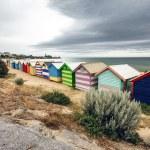 Brighton Bay Beachhouses — Stock Photo #44599281