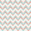 Vector de stock : Seamless chevron pattern in retro style.