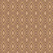 图库矢量图片: Seamless argyle pattern. Diamond shapes background.