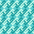 Seamless pattern of interlacing lines in retro style. — Stock Vector
