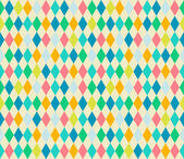Mosaic seamless patterns in retro style. — Stock Vector