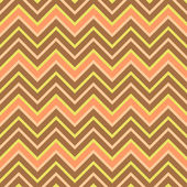 Seamless chevron pattern in retro style, soft colors. — Stock Vector