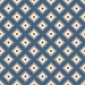 Motivo geometrico senza soluzione di continuità in stile retrò. Vintage colori tenui. — Vettoriale Stock