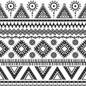 Aztec seamless pattern. — Stock Vector